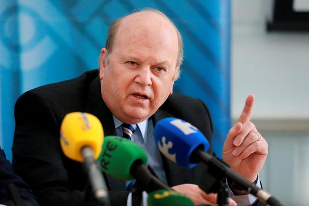 It is understood Mr Noonan will commit to matching the PAYE tax credit in full over the next five years, starting with at least a fifth, or €330, in 2016