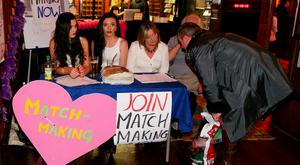 Signing up for Willie Daly's matchmaking skills