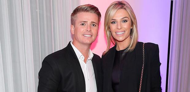 Brian Ormond and Pippa O 'Connor pictured at Eatzen Restaurant in Ashbourne for Keith Duffy's Asian Charity Fundraiser in aid of Irish Autism Action Charity