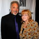 NEW YORK - JUNE 18: Sir Tom Jones and Linda Moran attend the 40th Annual Songwriters Hall of Fame Ceremony at The New York Marriott Marquis on June 18, 2009 in New York City. (Photo by Larry Busacca/Getty Images for Songwriters Hall of Fame)