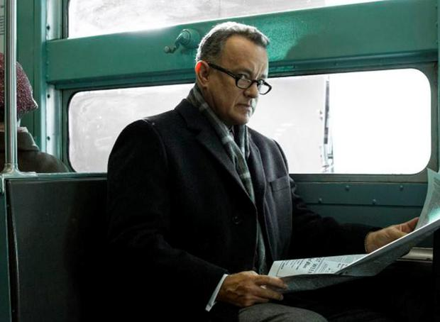 Tom Hanks as lawyer James Donovan in Steven Spielberg's 'Bridge of Spies'