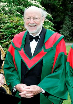 Professor William Campbell. Photo: Justin Mac Innes/ Trinity College Dublin/PA Wire