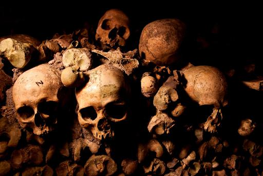 Paris Catacombs. Photo: Deposit