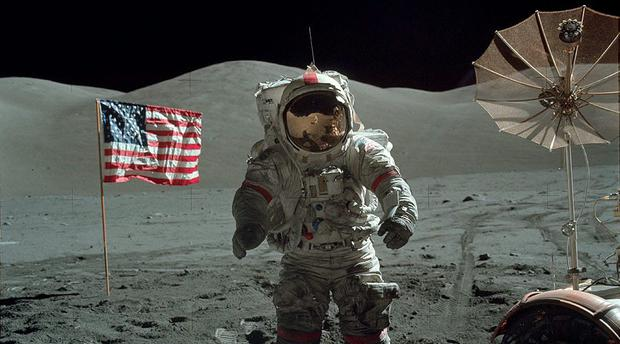 The galleries include every picture taken by the manned Apollo missions Credit: Project Apollo Archive