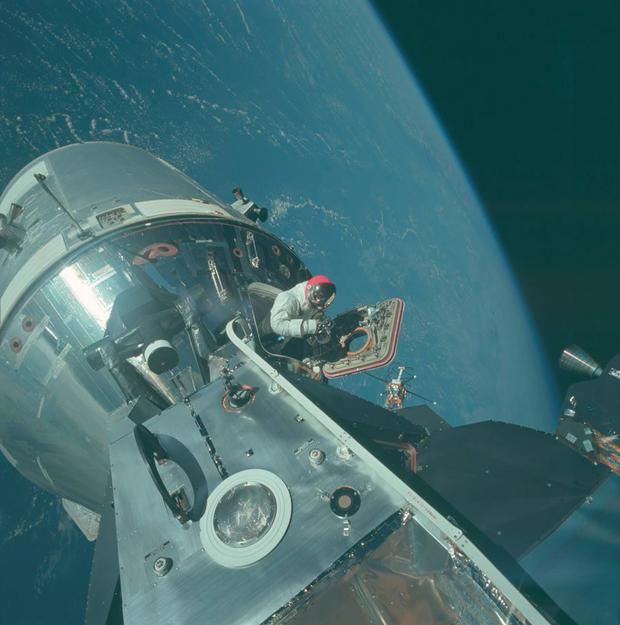 More than 13,000 images were uploaded by NASA Credit: Project Apollo Archive
