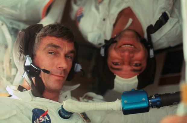 The astronauts documented as much of their journey as they could Credit: Project Apollo Archive
