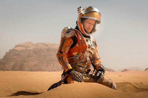 Matt Damon in 'The Martian', but how long before we reach the Red Planet?