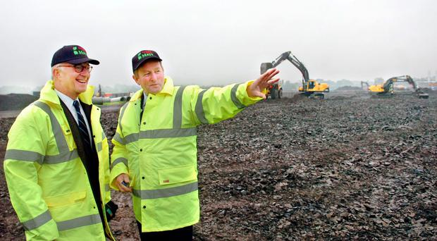 Half finished biomass plant set to be supplied by farmers up for sale