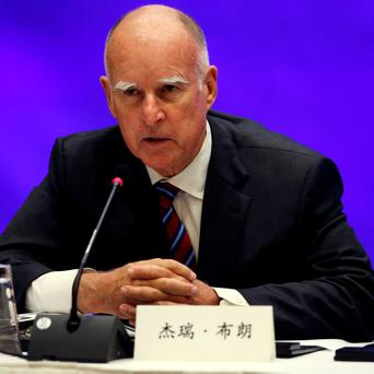 California Governor Jerry Brown. REUTERS/Matt Mills McKnight/Pool