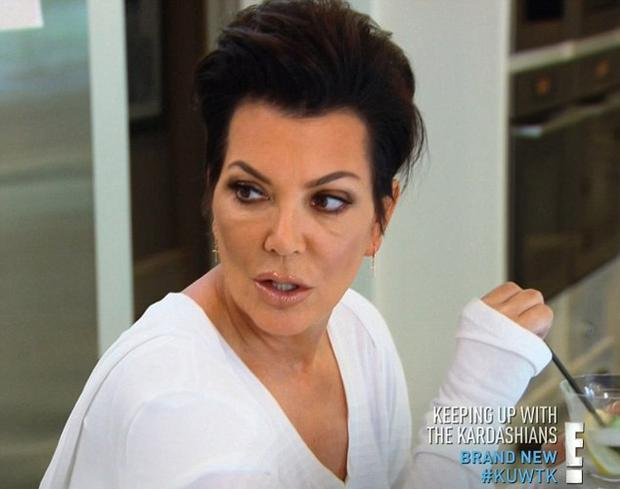 Kris Jenner on E's Keeping Up With The Kardashians