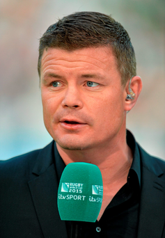 'Brian O'Driscoll (pictured) and Keith Wood head a huge guestlist of rugby legends'