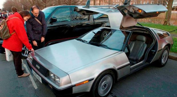 File photo dated 18/3/2005 of a DeLorean gull wing car. Photo: Haydn West/PA Wire