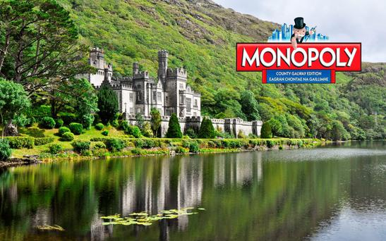 Kylemore Abbey is the most expensive property on the Galway Monopoly board. Photo: Desposit