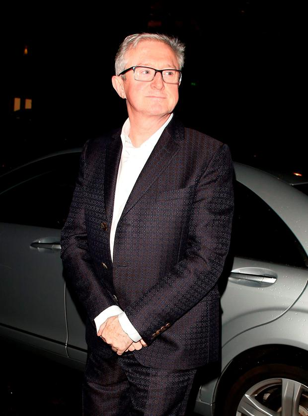 Louis Walsh attending the Specsavers 'Spectacle Wearer of the Year' party on October 6, 2015 in London, England. (Photo by Mark Robert Milan/GC Images)