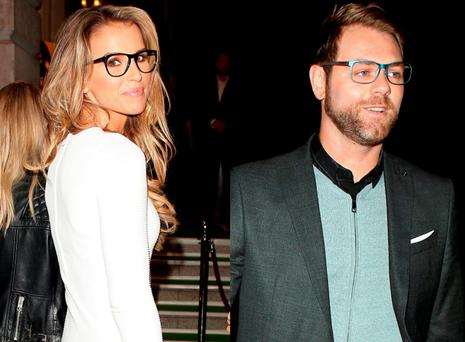 Vogue Williams and Brian McFadden spent the night partying together at the Specsavers Spectacle Wearer of the Year event in London