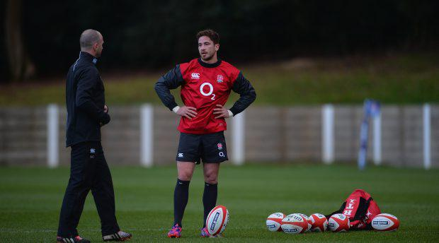 Danny Cipriani was involved in a training ground altercation with Mike Catt