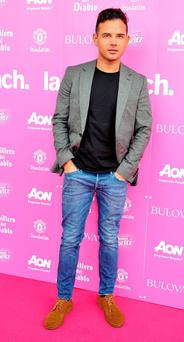 MANCHESTER, ENGLAND - OCTOBER 06: Ryan Thomas attends the Manchester United Foundation Ladies Lunch at Old Trafford on October 6, 2014 in Manchester, England. (Photo by Shirlaine Forrest/Getty Images)