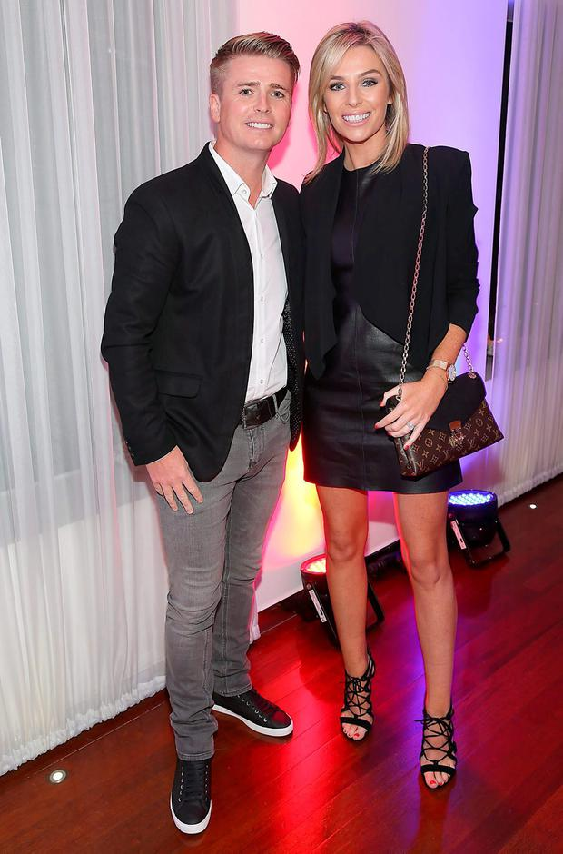 Brian Ormond and Pippa O'Connor pictured at Eatzen Restaurant in Ashbourne for Keith Duffy's Asian Charity Fundraiser in aid of Irish Autism Action Charity