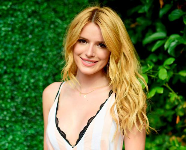 Actress Bella Thorne (18) understands that less is more when it comes to make-up. (Photo by Frazer Harrison/Getty Images for WILDFOX)