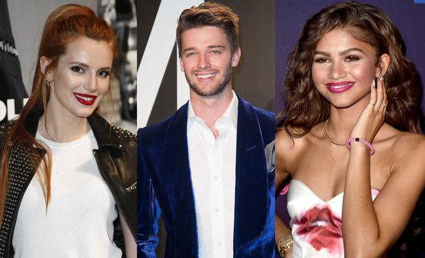 Who is zendaya your cheat sheet to whos who in young hollywood l to r bella thorne patrick schwarzenegger and zendaya m4hsunfo