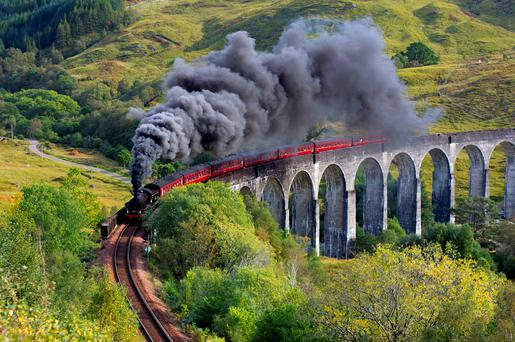 Glenfinnan viaduct. Photo: Deposit