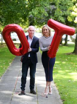 Pictured Presenters Ray D Arcy and Kathryn Thomas. Operation Transformation will return to our television screens next January for a ninth series on RTE One.
