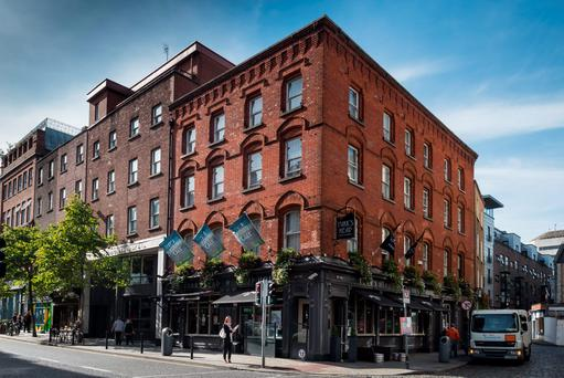 The Paramount Hotel and Turks Head is on the market for €15m.