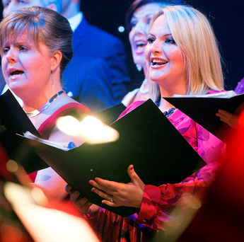 The Community Care Foundation Concert in the National Concert Hall in Dublin Photo: Arthur Carron