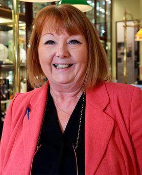 June Taylor from McDowell's Jewellers on Dublin's O'Connell Street