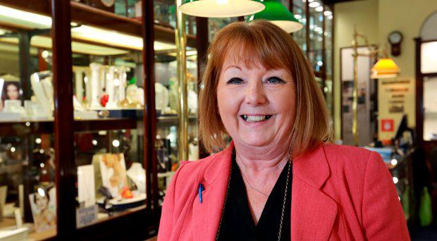 June Taylor from McDowell's Jewellers