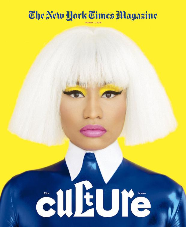 Nicki Minaj for New York Times Magazine