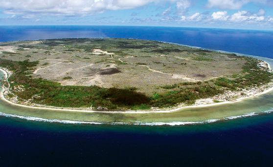 The island nation of Nauru, where Australian maintains a detention centre for migrants