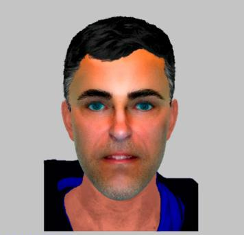 Efit issued by Hampshire Police of a man aged in his 20s or 30s, whose body was found in a kayak on Yaverland Beach, Sandown, on the Isle of Wight, on September 11. Photo: Hampshire Police/PA Wire