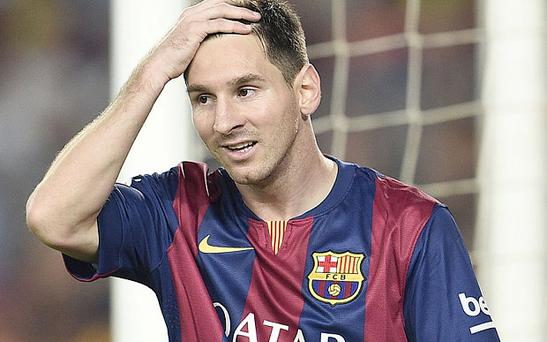 In the dock: Lionel Messi will have to stand trial for tax fraud Photo: AFP