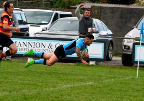 Galwegians racked up the tries against Lansdowne last weekend