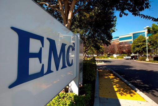 Dell is in talks to buy data storage company EMC Corp for more than $27 per share, according to media reports. Photo: Reuters