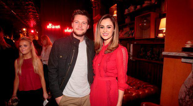 Madeline Mulqueen & Jack Reynor at a fundraising event where Models and Personalities Strutted their Stuff to Fund their Mission