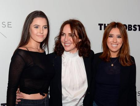 Morah Ryan, Babette Ryan, Lottie Ryan at the Irish premiere of The Lobster at The Lighthouse Cinema