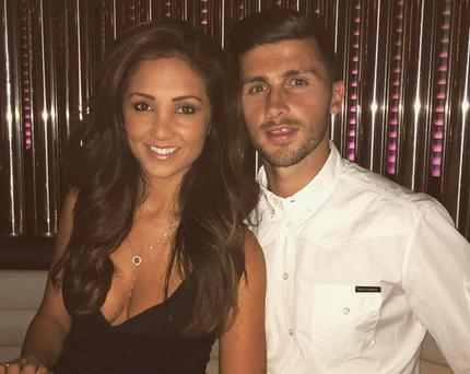 Shane Long and wife Kayleah Adams