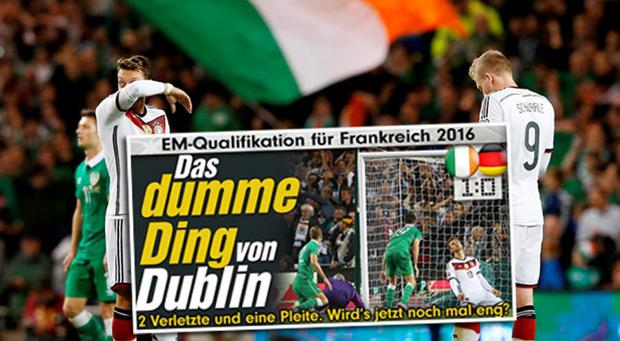 The German media have been less than complimentary with their team