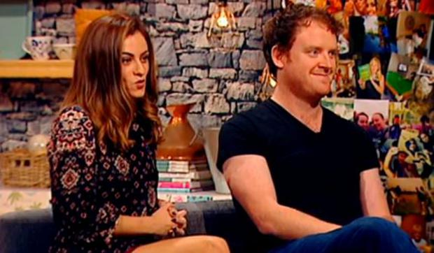 Madeline Mulqueen and Andrew Stanley on The Seven O'Clock Show