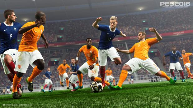 PES 2016: The ball and player physics are right on the money