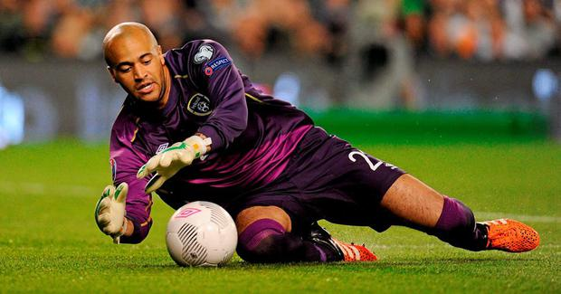 Darren Randolph played a key role in Shane Long's goal