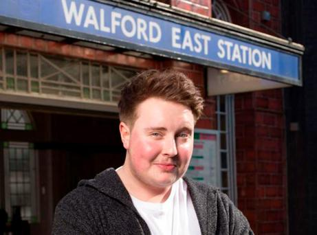 Riley Carter Millington will play the first transgender character on Eastenders
