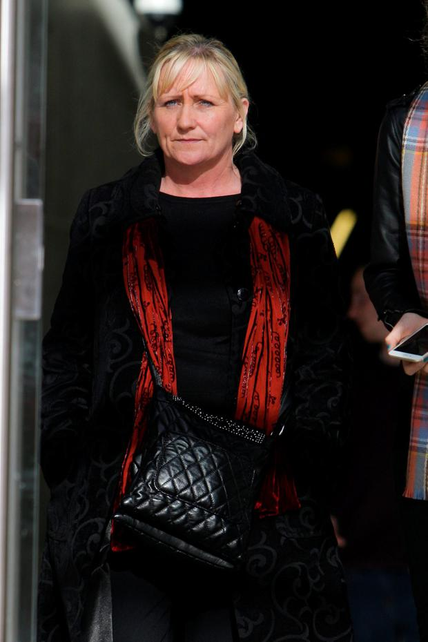 Alison Wilkins (48), of Balcurris Park West, Balcurris, Ballymun, where she was given a suspended sentenced for nine sample charges of theft on dates between July 2013 and March 2014. Pic: Courtpix