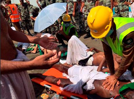 A new tally shows last months crush and stampede at the Saudi hajj was the deadliest event to ever strike the annual pilgrimage. (Directorate of the Saudi Civil Defense agency via AP, File)