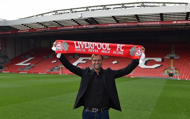 Jurgen Klopp is the new manager of Liverpool