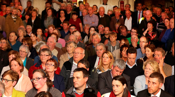 The people of rural Ireland voiced their concerns over crime at Thursday's meeting Photo: Steve Humphreys