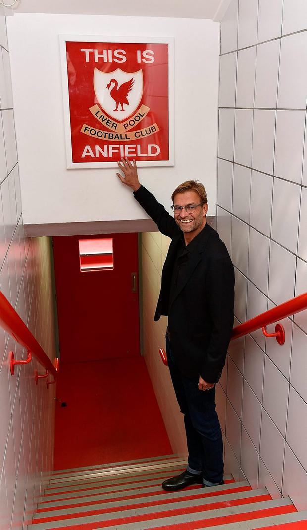 """Klopp - """"The atmosphere in the stadium is good but nobody is really enjoying themselves. It's never good enough,"""""""