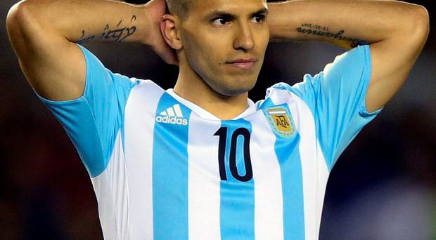 Aguero is expected to return to Manchester this weekend to have the injury assessed